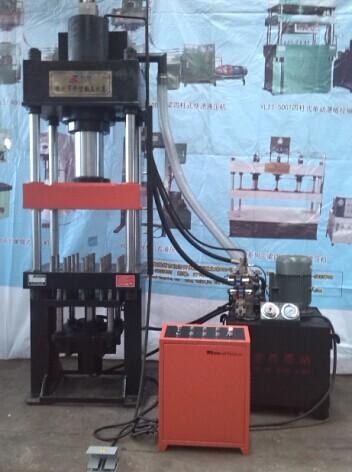 160吨四柱拉伸液压机