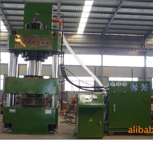 YL32-500吨三梁四柱液压机(砂轮磨料制品压制液压机